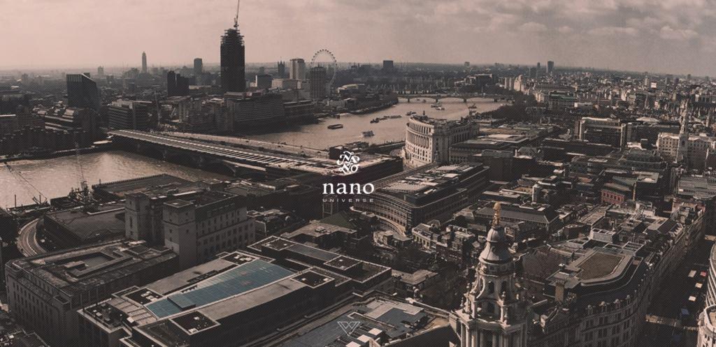 株式会社ナノ・ユニバースの公式ホームページの画像