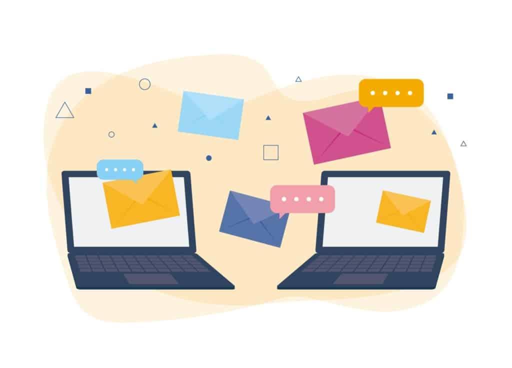 メール配信機能の画像