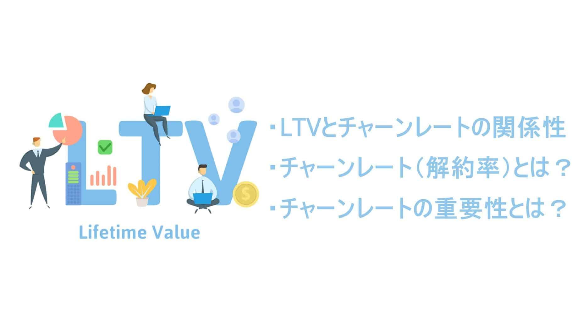 LTVとチャーンレート(解約率)の関係とは?計算方法や重要視される理由なども紹介!