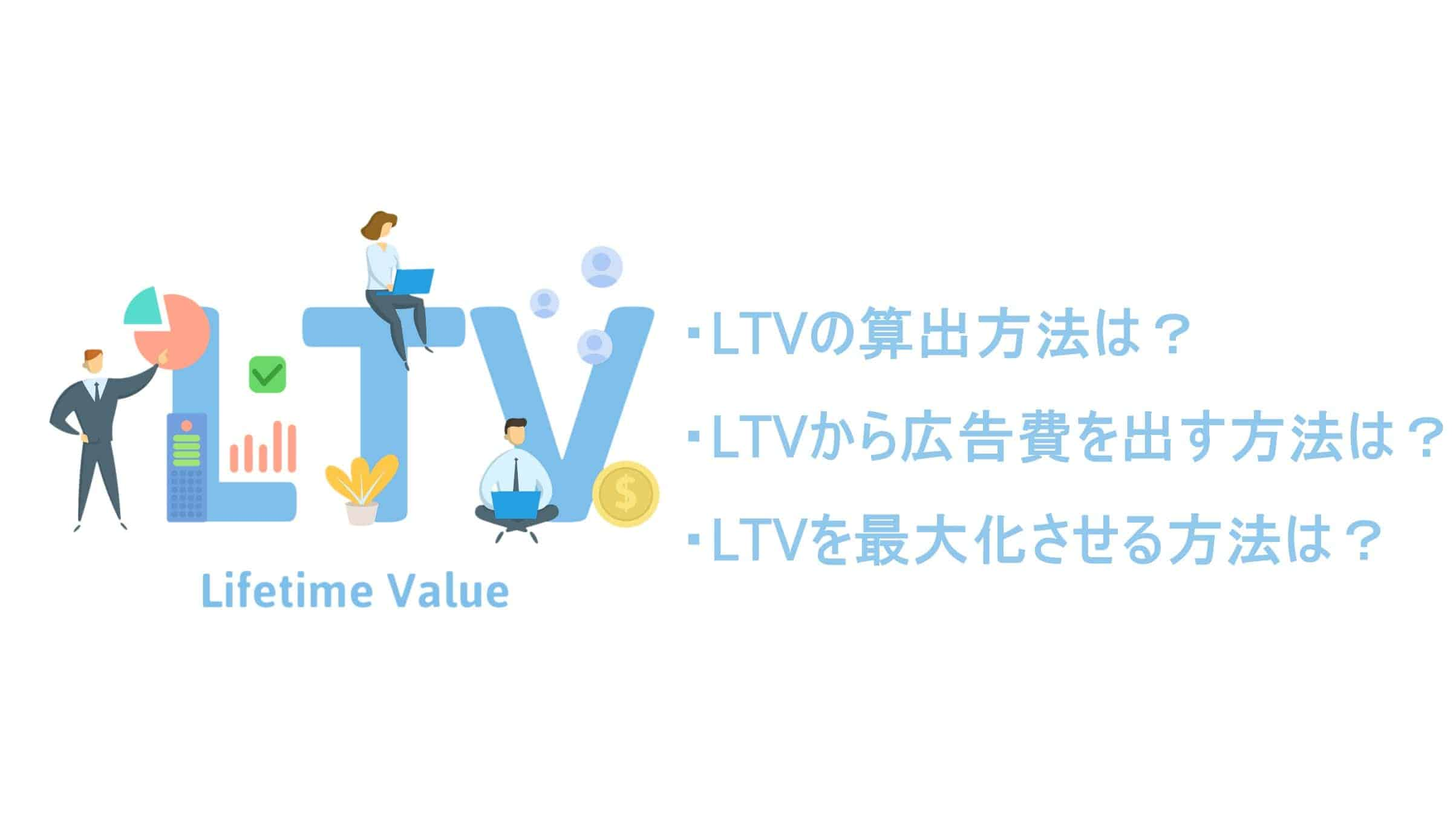 LTVから広告費を算出する方法とは?LTVの算出方法と最大化させる方法も紹介!